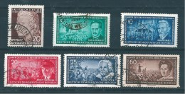 Allemagne Fédérale Timbres De 1955  N°202/04 206/07 Et 209 Oblitéré - Gebruikt