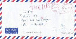 "Mauritius Maurice 2002 Quatre Bornes PO Meter Franking Pitney Bowes-GB ""Paragon"" PS 0057 Fee Cover - Mauritius (1968-...)"
