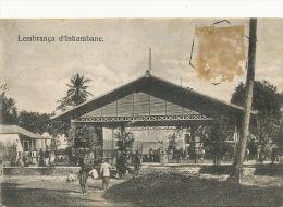 Lembrança D' Inhambane Stamp Removed  Undivided Back - Mozambique