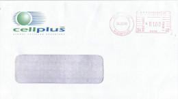 "Mauritius Maurice 2000 Port Louis Meter Franking Hasler ""Mailmaster"" HA 08 Domestic Cover - Mauritius (1968-...)"