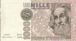 ITALY P. 109a 1000 L 1982  AUNC (25 Billets) - 1000 Lire