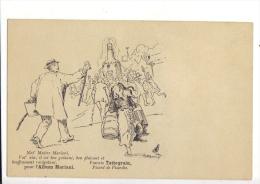 Vin Mariani Par Francis Tattegrain Rare Carte 1ère Serie Dos Non-divisé Ca. 1905 - France