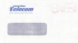 "Mauritius Maurice 1998 Port Louis Meter Franking Hasler ""Mailmaster"" HA 05 Domestic Cover - Mauritius (1968-...)"