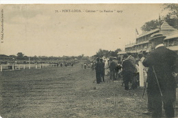 """71 Port Louis Courses """" Le Maidon """" 1909 Edit Vidal  Used 1913 To Jamaica Stamp Removed - Maurice"""