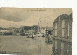 66 Port Louis Albion Dockedit Vidal  Used Curepipe 1911 Vers Dr Riviere La Bourboule - Maurice