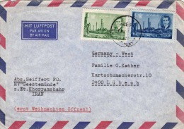 Iran Of Old Airmail Letter - Iran