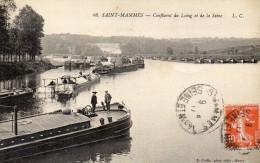 CPA -   SAINT - MAMMES  (77)  Confluent Du Loing Et De La Seine - Saint Mammes