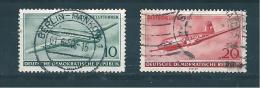 Allemagne Fédérale Timbres De 1956  N°243 Et 245 Oblitéré - Gebruikt