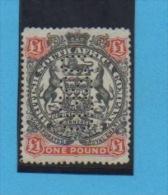 "Compagnie Britannique AFRIQUE DE SUD  -  Yvert N° 56,  Perforé "" USED "" - Südafrika (...-1961)"