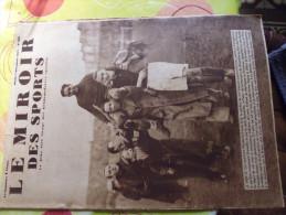 Miroir ,des Sports N°980 De 1937-foot France-italie-velo Toto Grassin - Books, Magazines, Comics