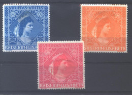 "Kaiserin Elisabeth (Sissi) "" URIBUS UNITIS ""  3 vignettes *  (MH)"