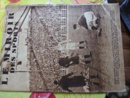 Miroir Des Sports- 932 De 1937-foot France Belgique--thil - Sport