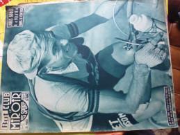 But Club Miroir Des Sports- Tour De France 195?-bobet Etc...le Ventoux - Sport
