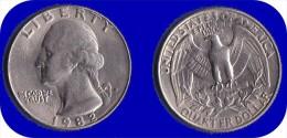 ETATS UNIS * QUATER DOLLAR *WASHINGTON*ANNEE 1982 (P) - Émissions Fédérales