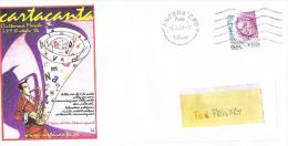 """ITALIA - 2004 BUSTA VIAGGIATA CON LOGO """"CARTACANTA"""" CIVITANOVA MARCHE (MC) 2004 - RIF. 1223 - 6. 1946-.. Repubblica"""