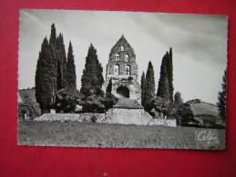 CPSM PHOTO GLACEE  09 Ariege  SABARAT L'EGLISE       VOYAGEE  1963  TIMBRE - Autres Communes
