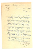 Lettre à Entête- Chemin De Fer De CHIMAY 1933(b156) - Belgium
