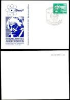 DDR PP16 C2/008 Privat-Postkarte DRUCKFEHLER Einstein Erfurt Sost. 1979 - [6] Repubblica Democratica