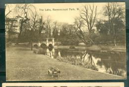 The Lake, Ravenscourt Park, W.  Ear130 - London Suburbs