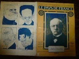 1919 LPDF:Fanions LPDF à L' Escadrille Américaine;ODESSA ;Un SINGE Domestiqué Pourrait Faire Des Tâches Simples Gratuit - Riviste & Giornali