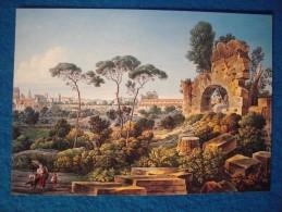 Louis-Francois Cassas. Azay-le-Ferron, 1756 - Versailles, 1827.  Le Mont Esquilin - Paintings