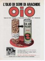 1970 - OIO Olio Di Semi Di Arachide -  1  Pubblicità Cm. 13 X 18 - Reclame