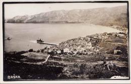 BASKA Krk Jugoslawien Fotokarte 193? - Jugoslawien
