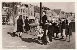 HOOGEVEEN Trommelslager Fotokarte 1958 - Niederlande