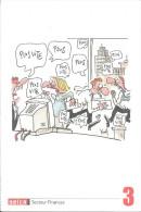 Thème Syndicats - SETCA - Secteur Finances - Dessin De Kroll - Syndicats