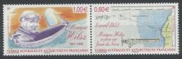 French Antarctic (FSAT), Maryzse Hilsz, French Aviator, 2012, MNH VF - Unused Stamps