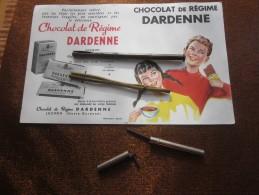 2 Bi Porte- Crayon Ou Mine+Boitier De Mines Crayon Inox+Buvard Publicitaire  Chocolat Dardenne->Bureau Objets Liés - Pens