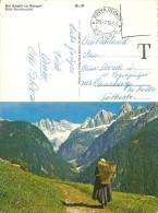 Soglio - Blick Ins Bondascatal  (ital. Stempel NUOVA OLONIO / Taxiert)            1966 - GR Grisons