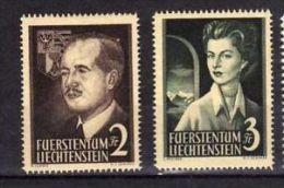 """Liechtenstein (1955 - """"Couple Princier"""" Neufs* - Liechtenstein"""