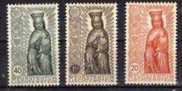 """Liechtenstein (1955)  - """"Vierge En Bois"""" Neufs* - Liechtenstein"""