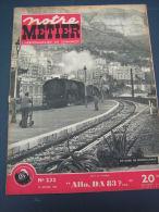 Notre Métier 1950 232 NUITS SOUS RAVIERES ALGéRIE CLAUSE Bretigny Sur Orge CIWL - Livres, BD, Revues
