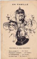 Carte Postale Fantaisie Satirique Guerre 1914. - Humoristiques