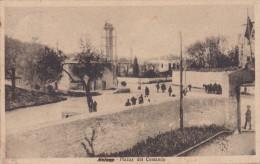 VALONA - PIAZZA DEL COMANDO TRUPPE OCCUPAZIONE   VG 1917   AUTENTICA 100% - Albania