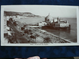 06- NICE ** PROMENADE DES ANGLAIS ** Phot. Giletta :Panoramique Plages & Casino De La Jetée-1930- - Plaatsen