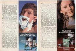 1974 - PALMOLIVE - 2 Pubblicità Cm. 13 X 18 - Riviste