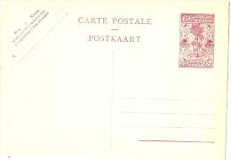 LBL20 - CONGO BELGE - EP CP 2fr40 BORDEAUX NEUVE - 1947-60: Covers