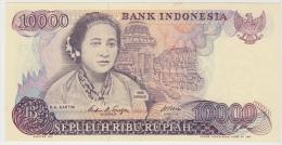 INDONESIE 10000 Roupies 1985 P126a UNC - Indonésie