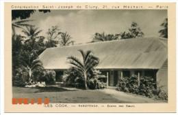NOUVELLE CALEDONIE -  CONCEPTION - EGLISE ET ECOLE -  Congrégation Saint-Joseph De Cluny - 21 Rue Méchain - Paris - Cook Islands