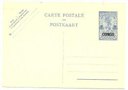 LBL20 - CONGO - EP CP 1fr50 BLEU NEUVE - République Du Congo (1960-64)
