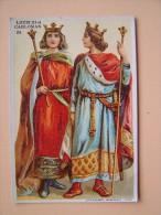 CHROMO CHICOREE à La BERGERE Emile BONZEL HAUBOURDIN Nord N°33 LOUIS III Et CARLOMAN (879-884) - Autres