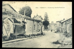 Cpa Du 55  Verdun Faubourg Jardin Fontaine     AO29 - Verdun