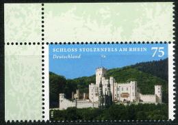 BRD - Michel 3049 - ** Postfrisch Eckrand Oben Links - 75C Schloss Stolzenfels - BRD