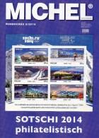 Briefmarken Rundschau MICHEL 2/2014 Neu 6€ New Stamps Of The World Catalogue And Magacine Of Germany ISBN4 194371 105009 - Télécartes
