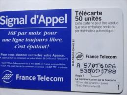 LA NUMÉROTATION  SIGNAL D' APPEL C'EST ÉPATANT SO5 - Variëteiten
