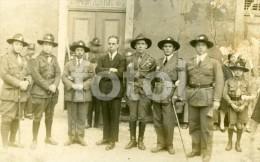 RARE REAL PHOTO FOTO SCOUTS  POSTCARD ESCUTEIROS DE PORTUGAL CARTE POSTALE - Scouting