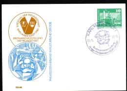 KARL-MARX-Denkmal Chemnitz DDR PP16 C2/015 Privat-Postkarte Sost. 1980 - Karl Marx